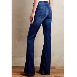 Anthropologie McGuire Majorelle Flare Jeans